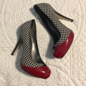 Madden Girl Houndstooth Pumps